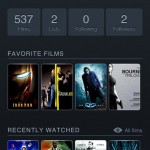 Letterboxd Profil iPhone Ansicht